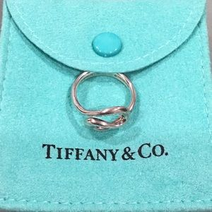 Tiffany and Co vintage Elsa Peretti Open Wave ring